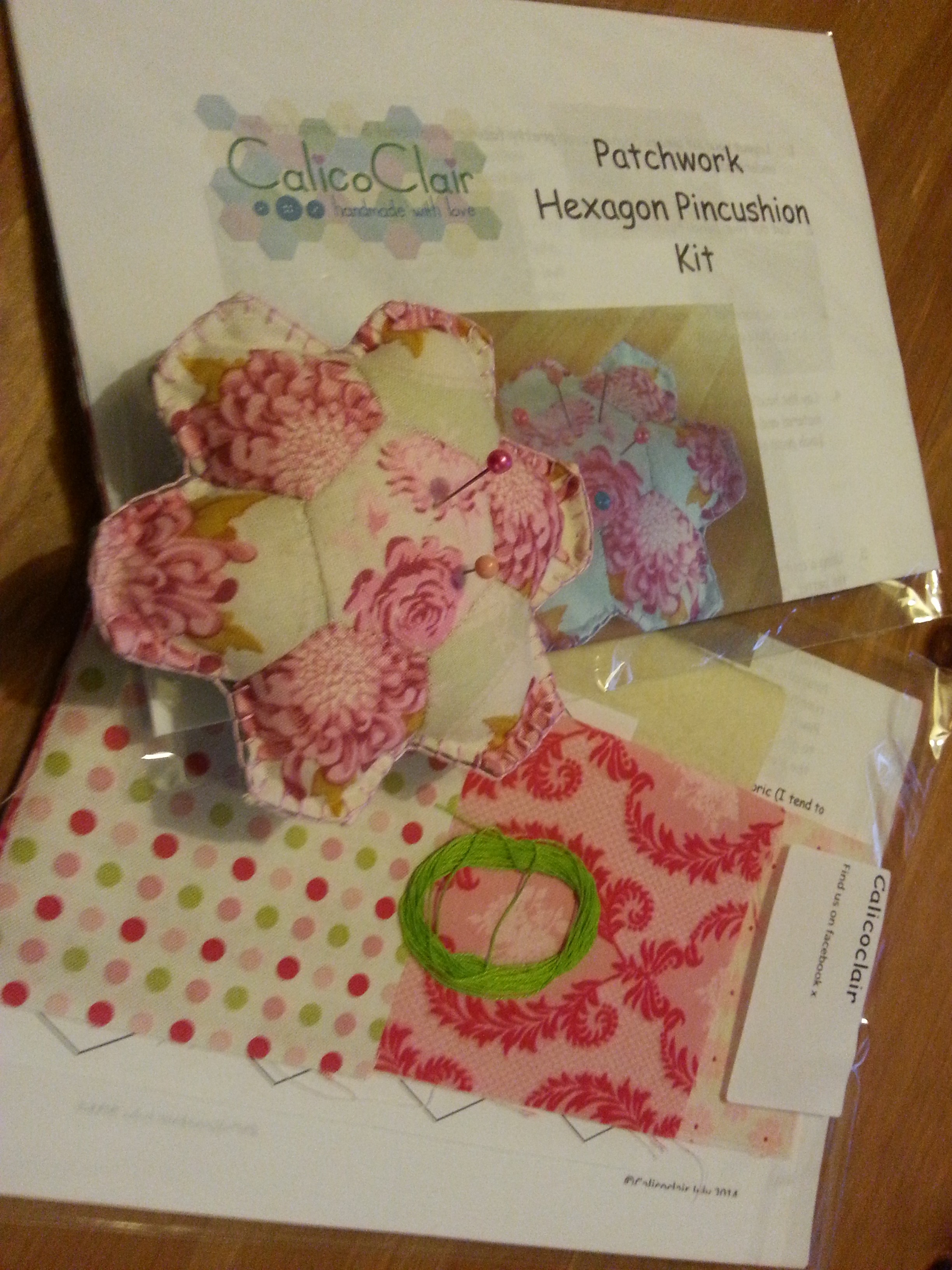 Patchwork Pincushion Kit